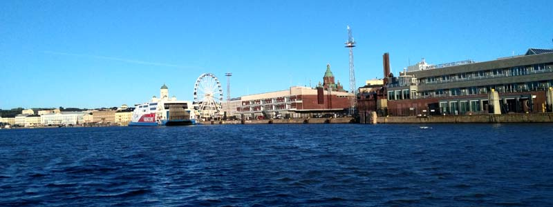 Вид на Хельсинки