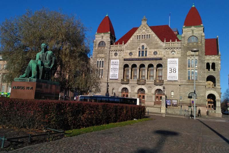 Финский национальный театр / Suomen Kansallisteatteri