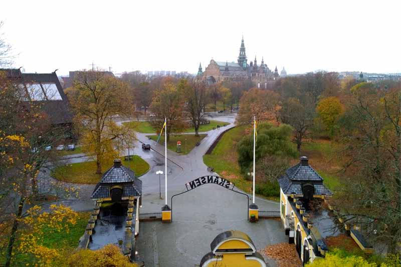 Стокгольм. Скансен