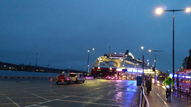 В Стокгольм из Турку на пароме Viking Line