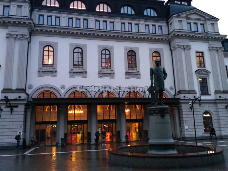 Стокгольм. Железнодорожный вокзал