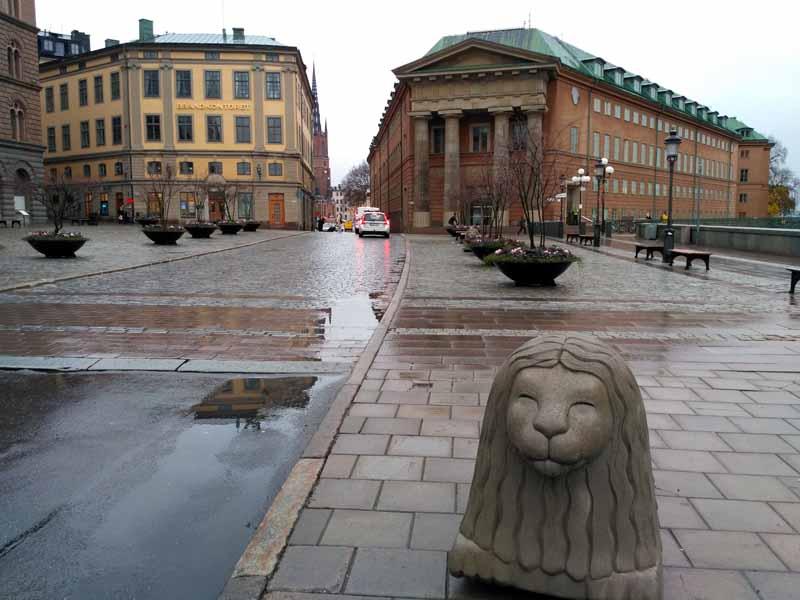 Стокгольм. Монетная площадь