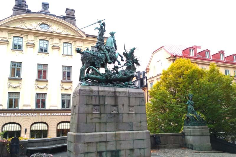 Стокгольм. Святой Георгий и Дракон