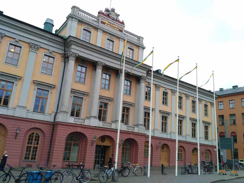 Стокгольм. Дворец Арвфюстена