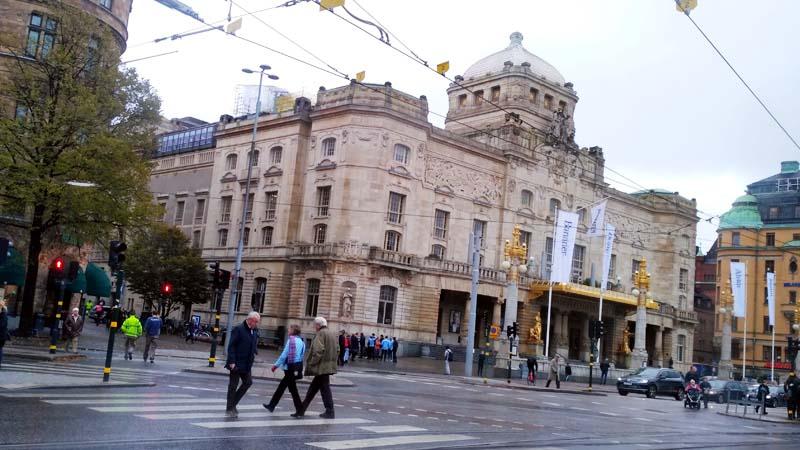 Стокгольм. Королевский драматический театр