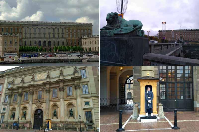 Стокгольм. Королевский дворец