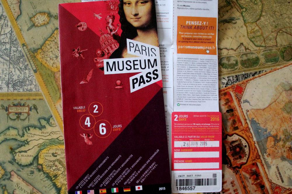 Париж пасс / Paris museum pass. Все музеи Парижа — по одной карте