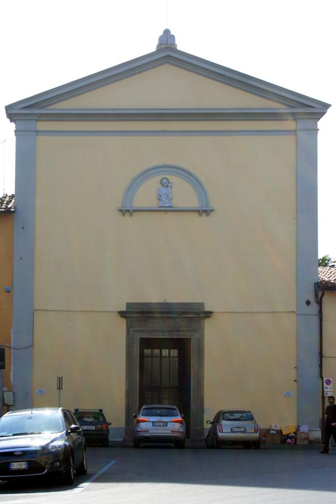 Церковь монастыря Sant Torpe в Пизе