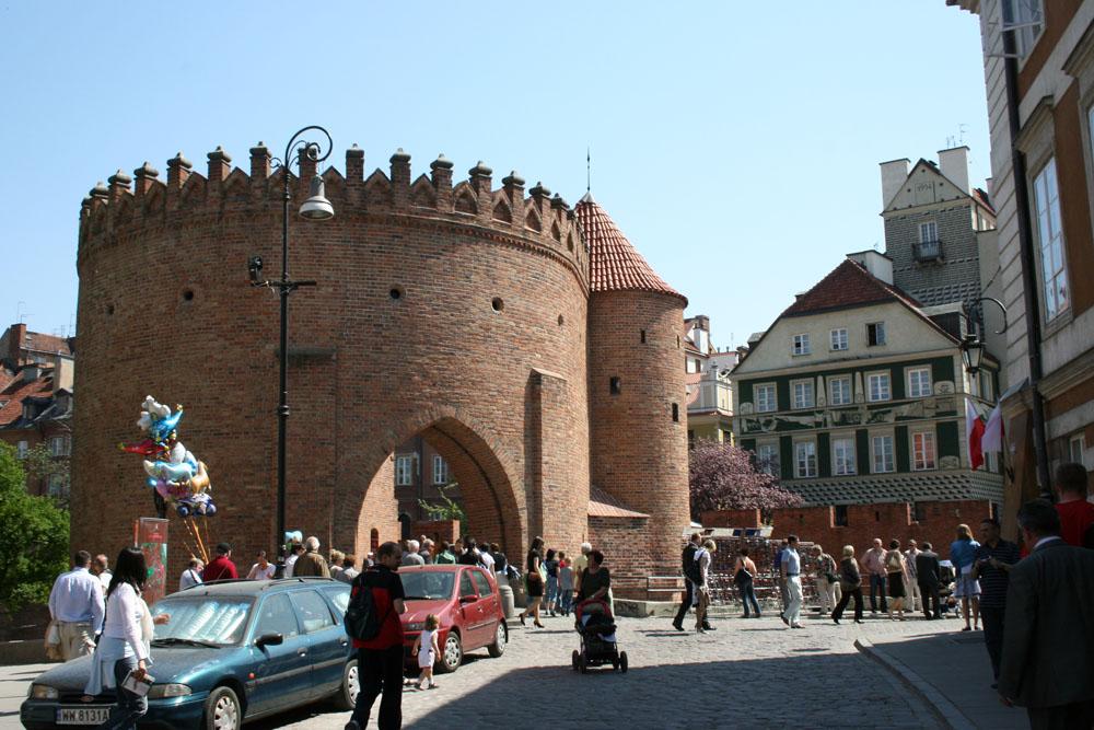 Варшава Барбакан