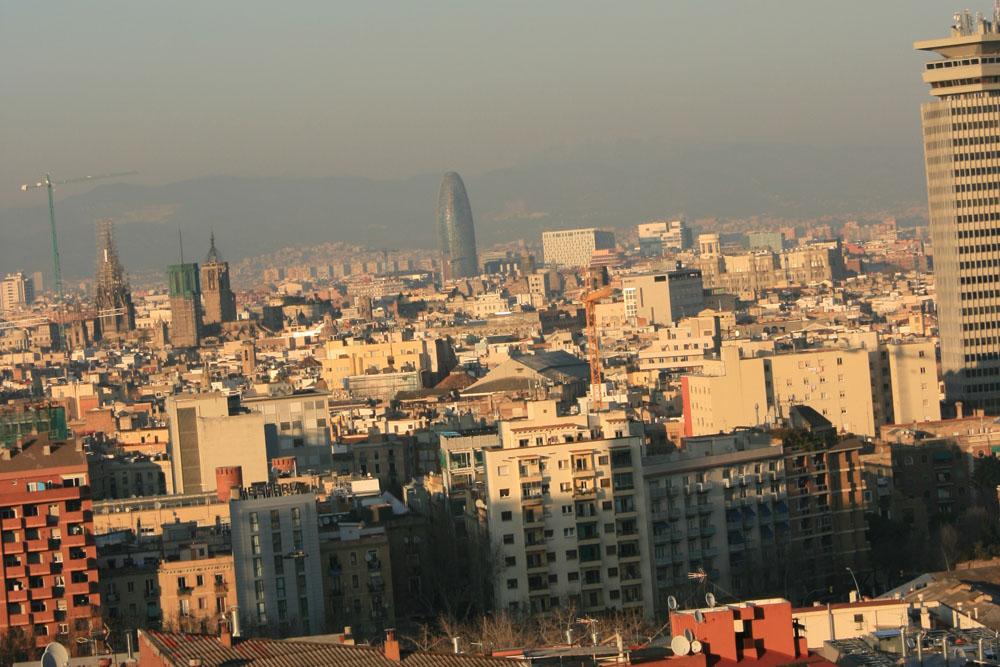 Небоскреб Барселоны — башня Акбар