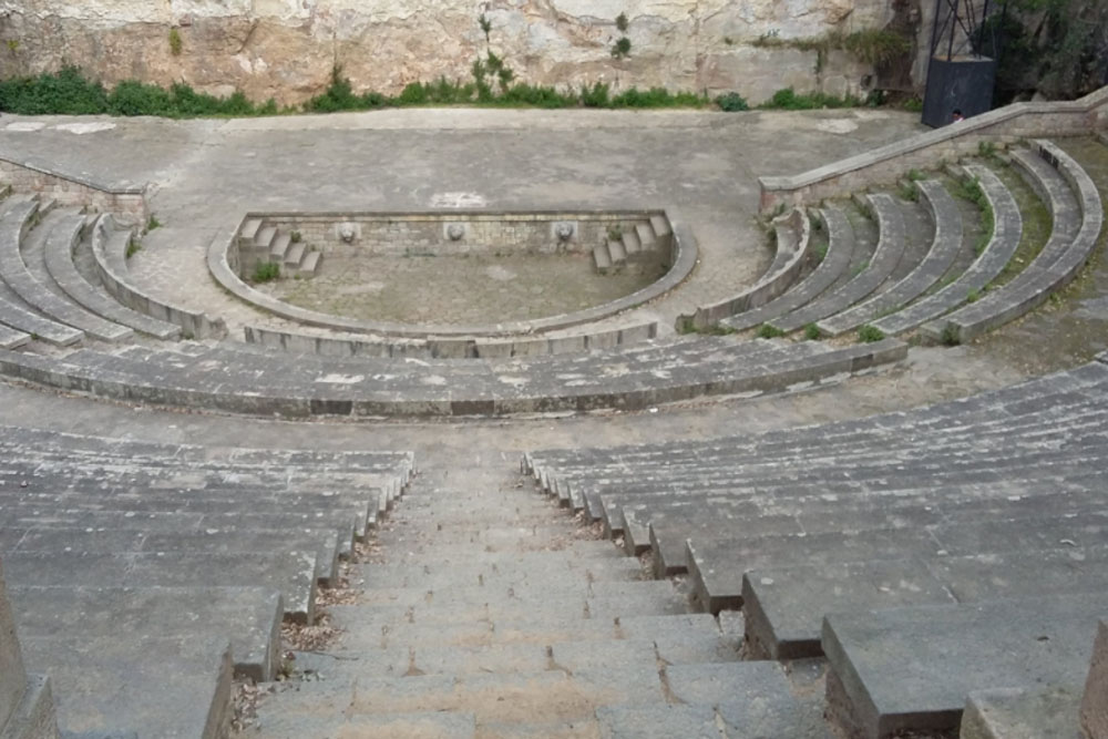 Греческий театр / Teatre Grec