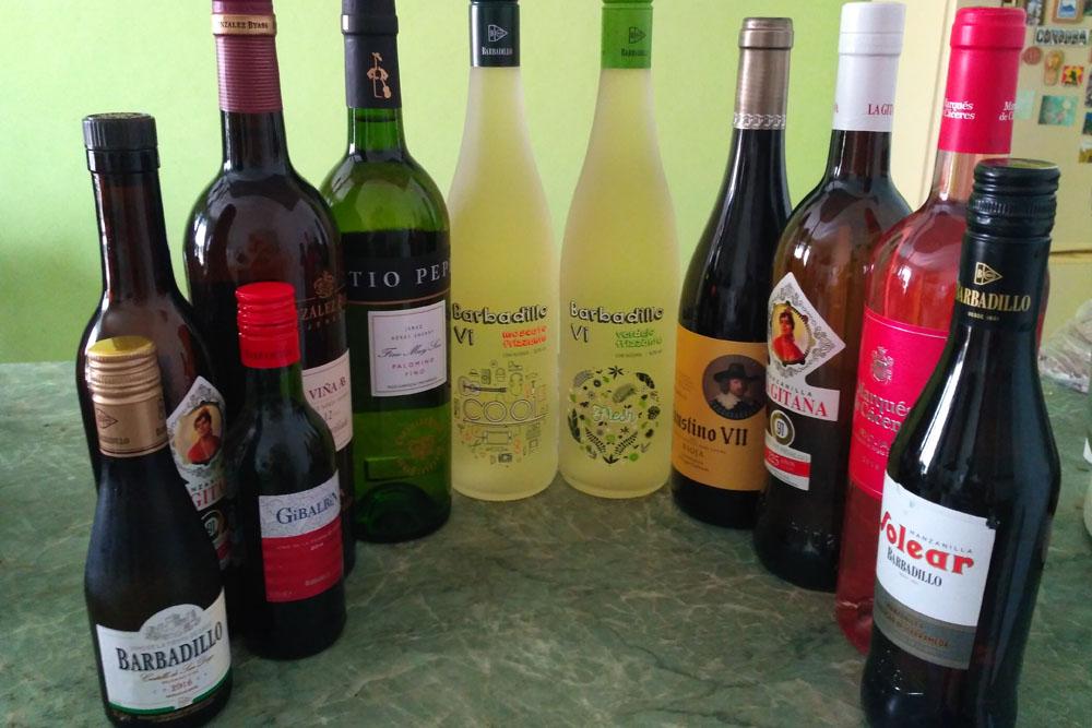 Херес вино Испании