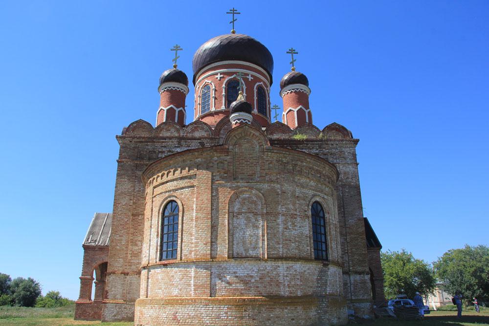Поповка. Церковь Николая Чудотворца