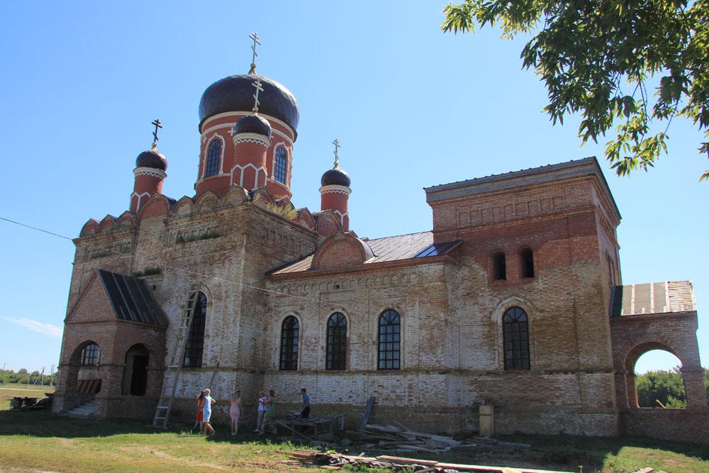 Церковь Николая Чудотворца в Поповке