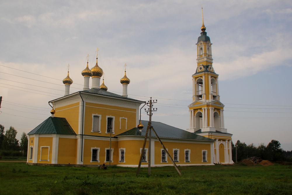 Ильинское. Церковь Илии Пророка или Церковь села Ильинское, что в Поречье
