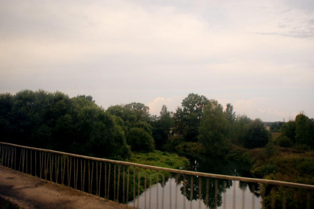 Борисоглебский монастырь, река Устье