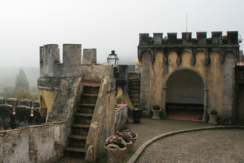 Синтра. Дворец Пена
