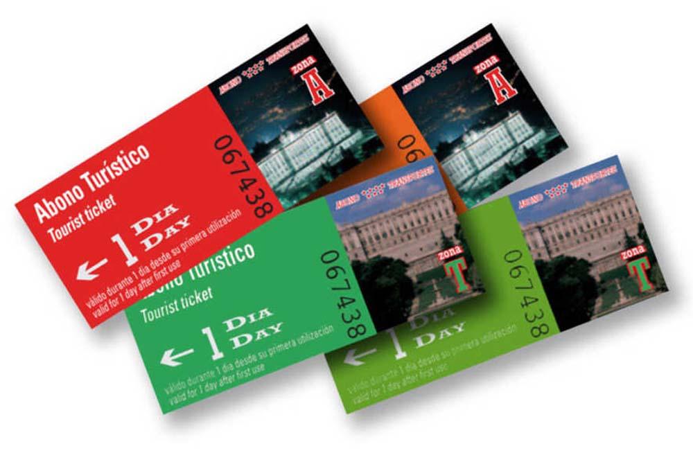 Туристическая карта Мадрида / Madrid Tourist Travel Card