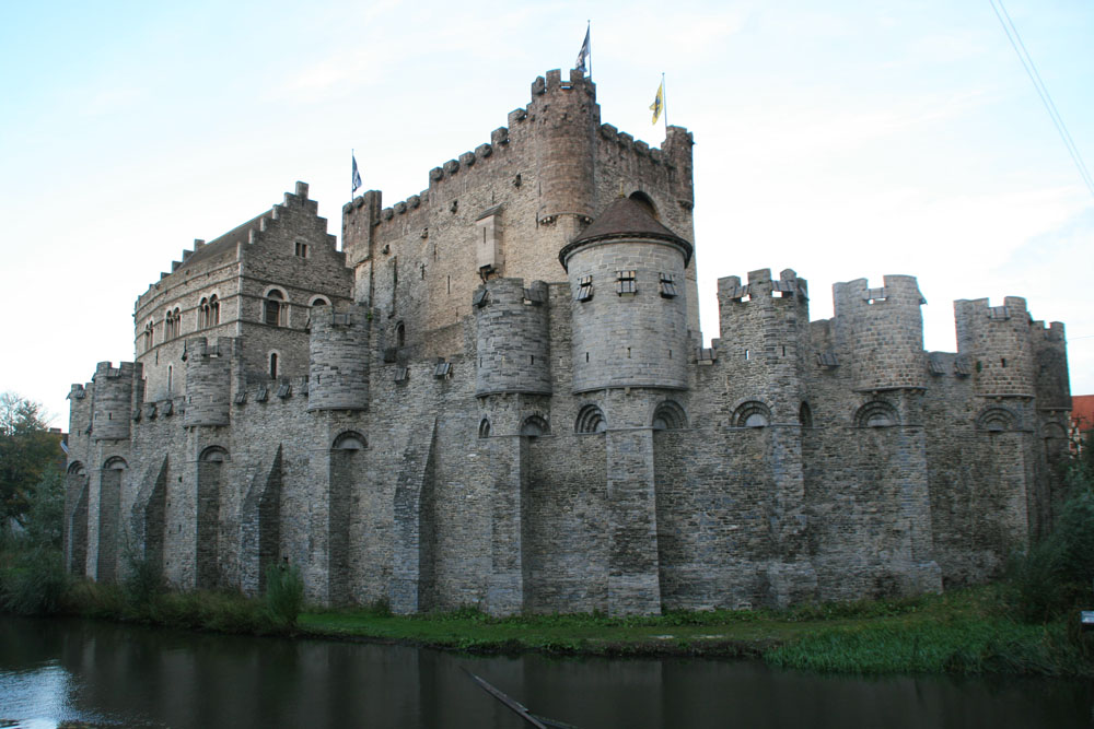 Гент. Замок Гравенстен