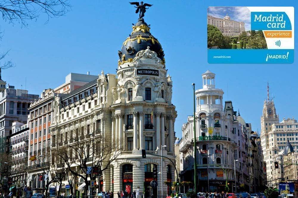 Madrid Card / Мадридская карта