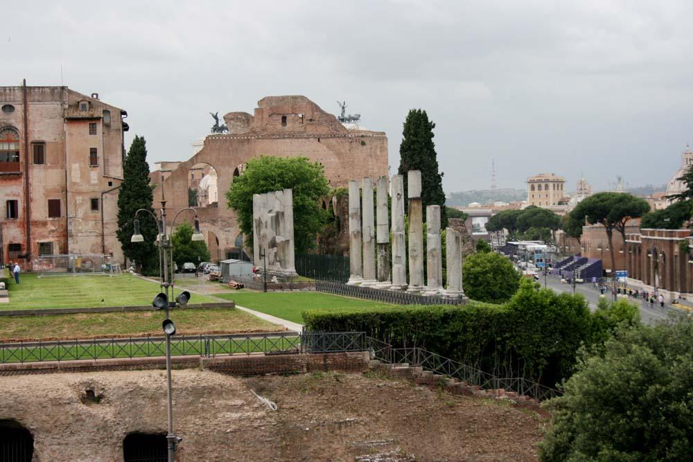 Рим. Вид из Колизея