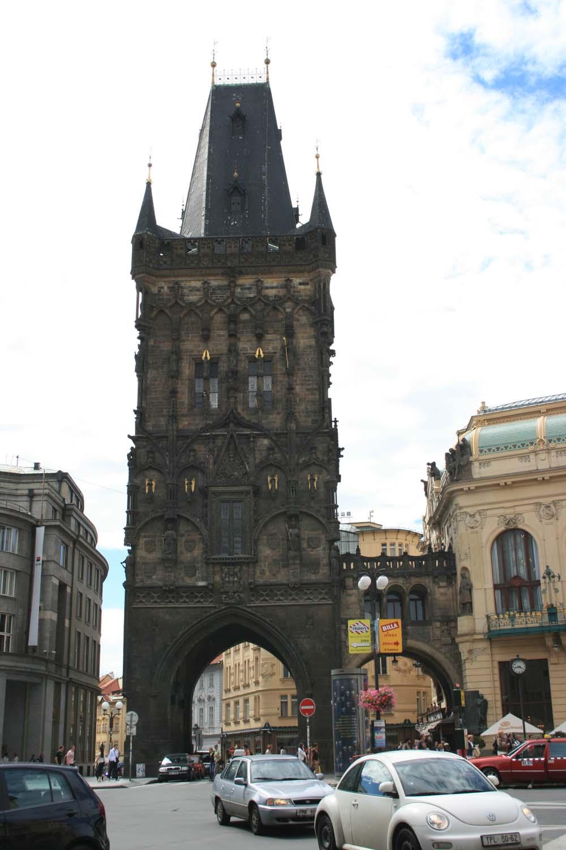 Проховая башня в Праге