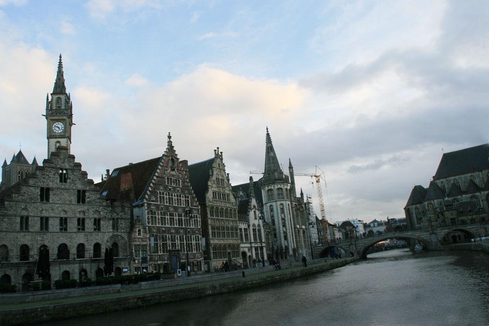 Гент. Самостоятельное путешествие в Бельгию