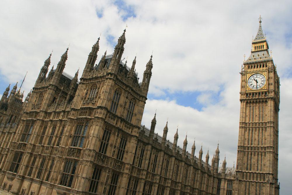 Лондон. Топ-10 достопримечательностей. Парламент и Биг Бен