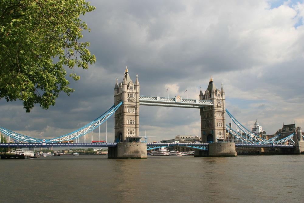 Лондон. Топ-10 достопримечательностей. Тауэрский мост