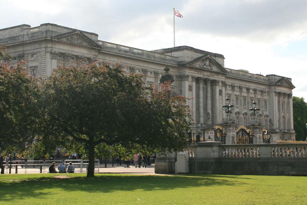 Лондон. Топ-10 достопримечательностей. Букингемский дворец