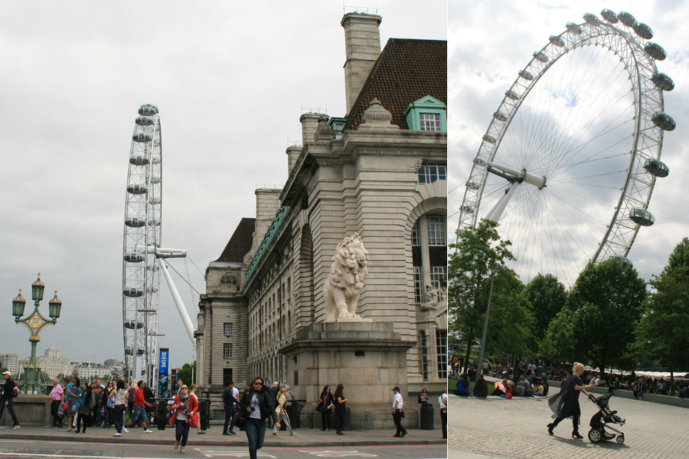 Лондон. Топ-10 достопримечательностей. Лондонский глаз
