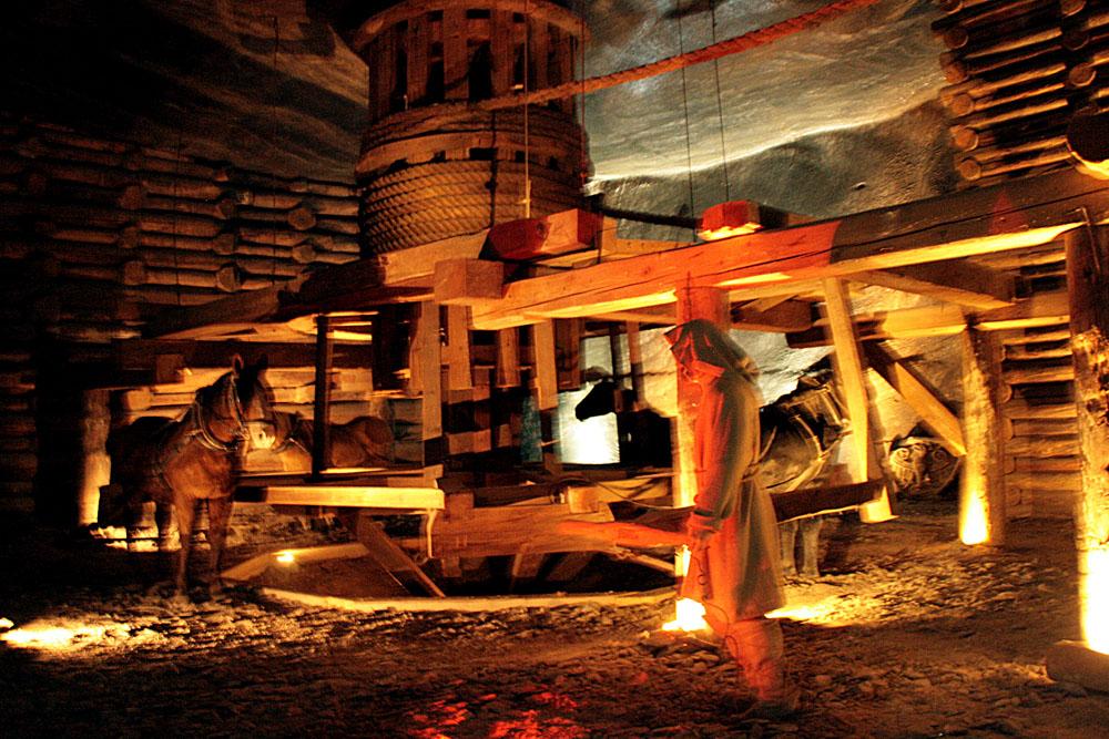 Величка. Соляные шахты