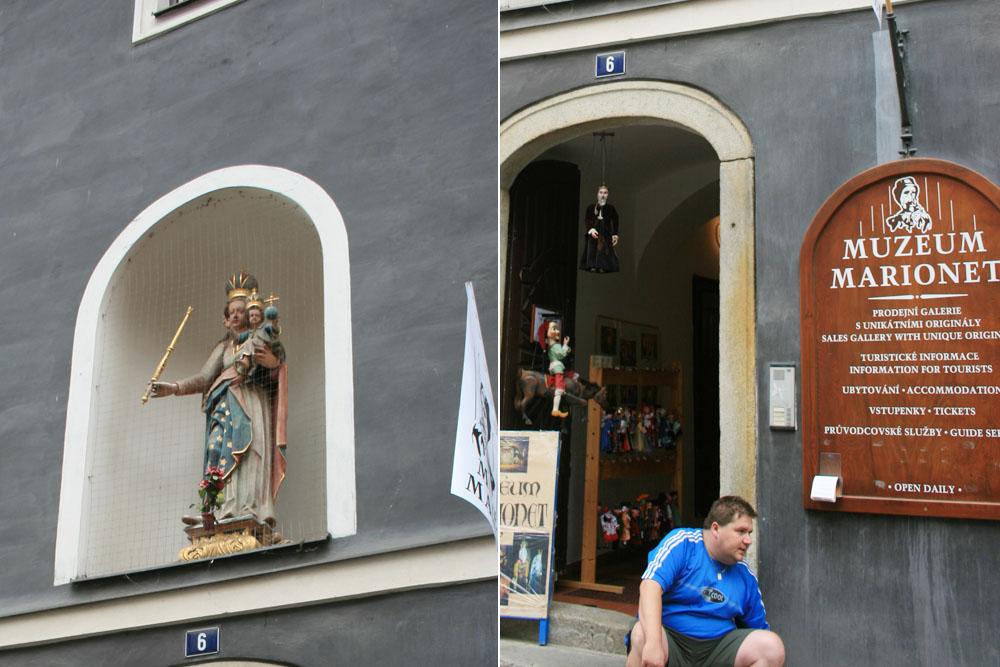 Чески Крумлов Музей марионеток
