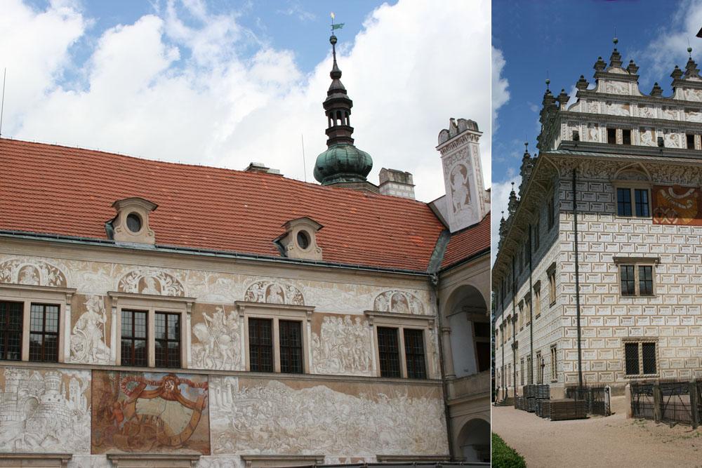Литомишль: замок в стиле Ренессанс