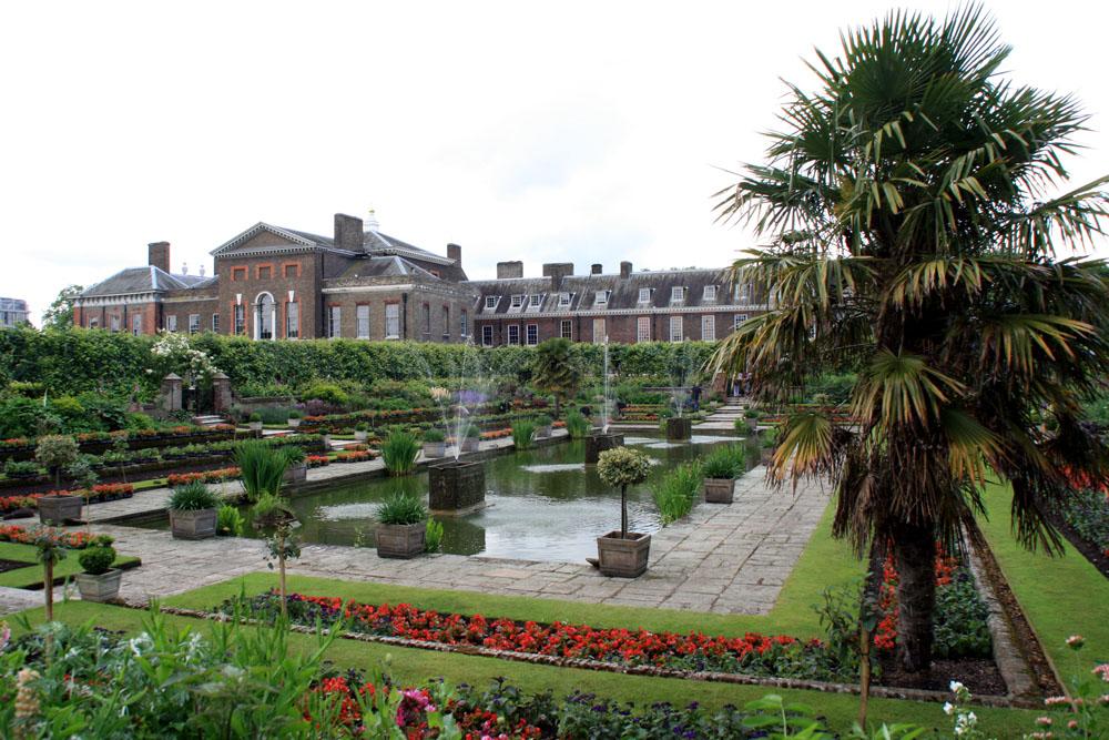 Лондон Кенсингтонские сады