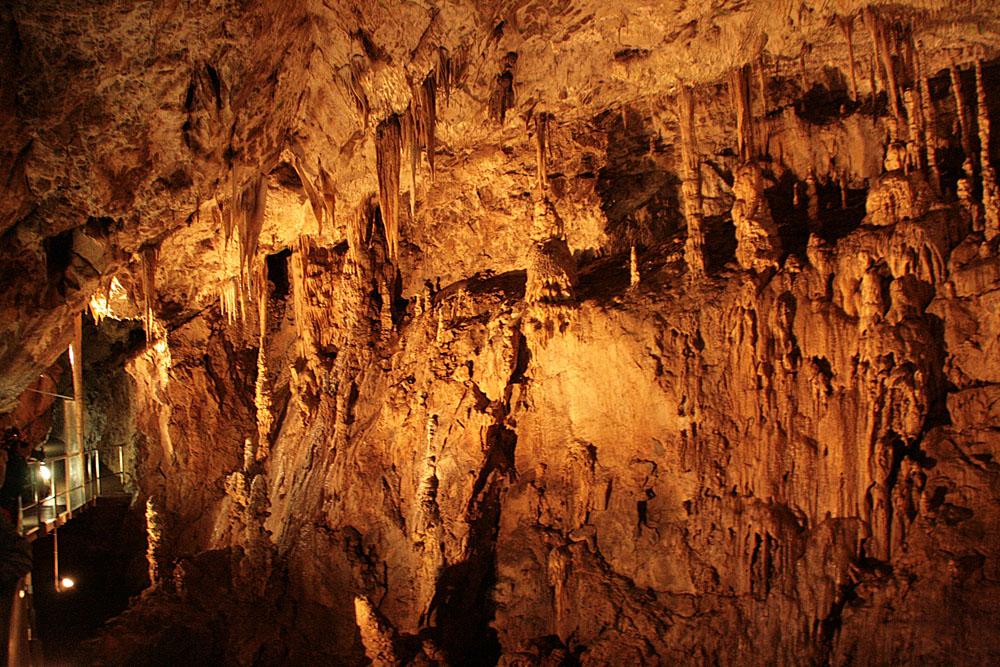 Моравский крас. Пещеры