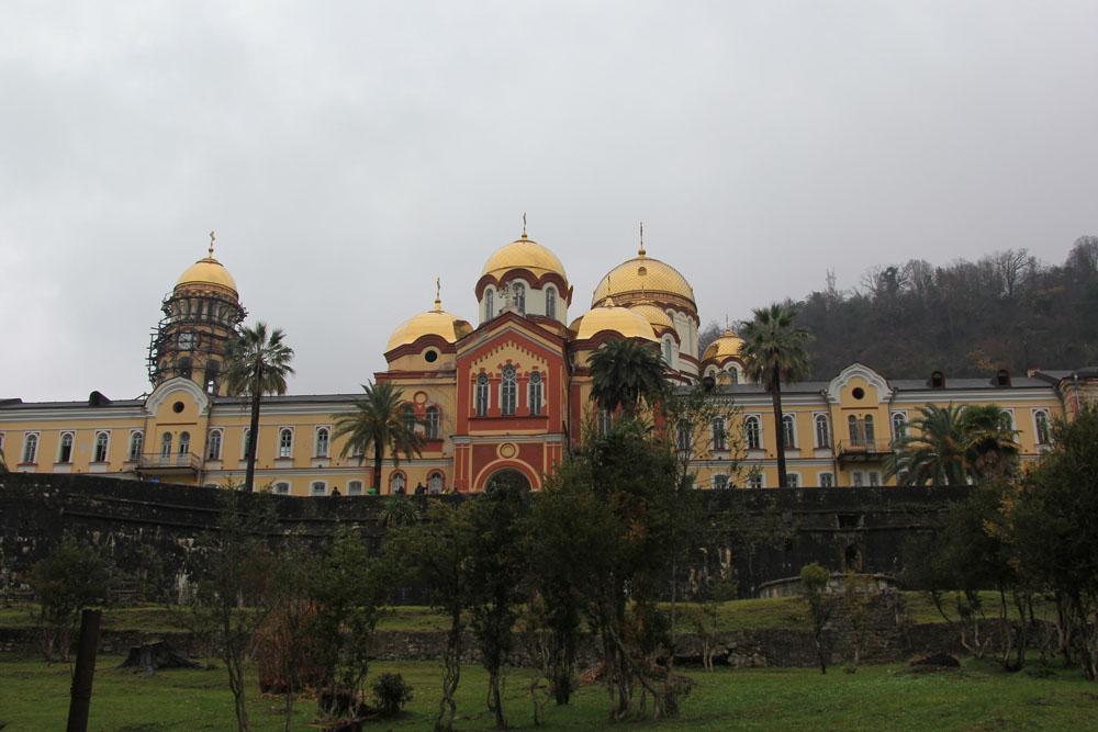Новый Афон. Монастырь