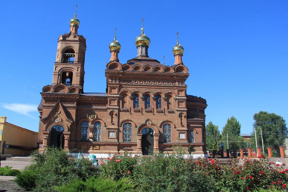 Крестовоздвиженский храм и Сад Храмов, или утраченные церкви Хвалынска