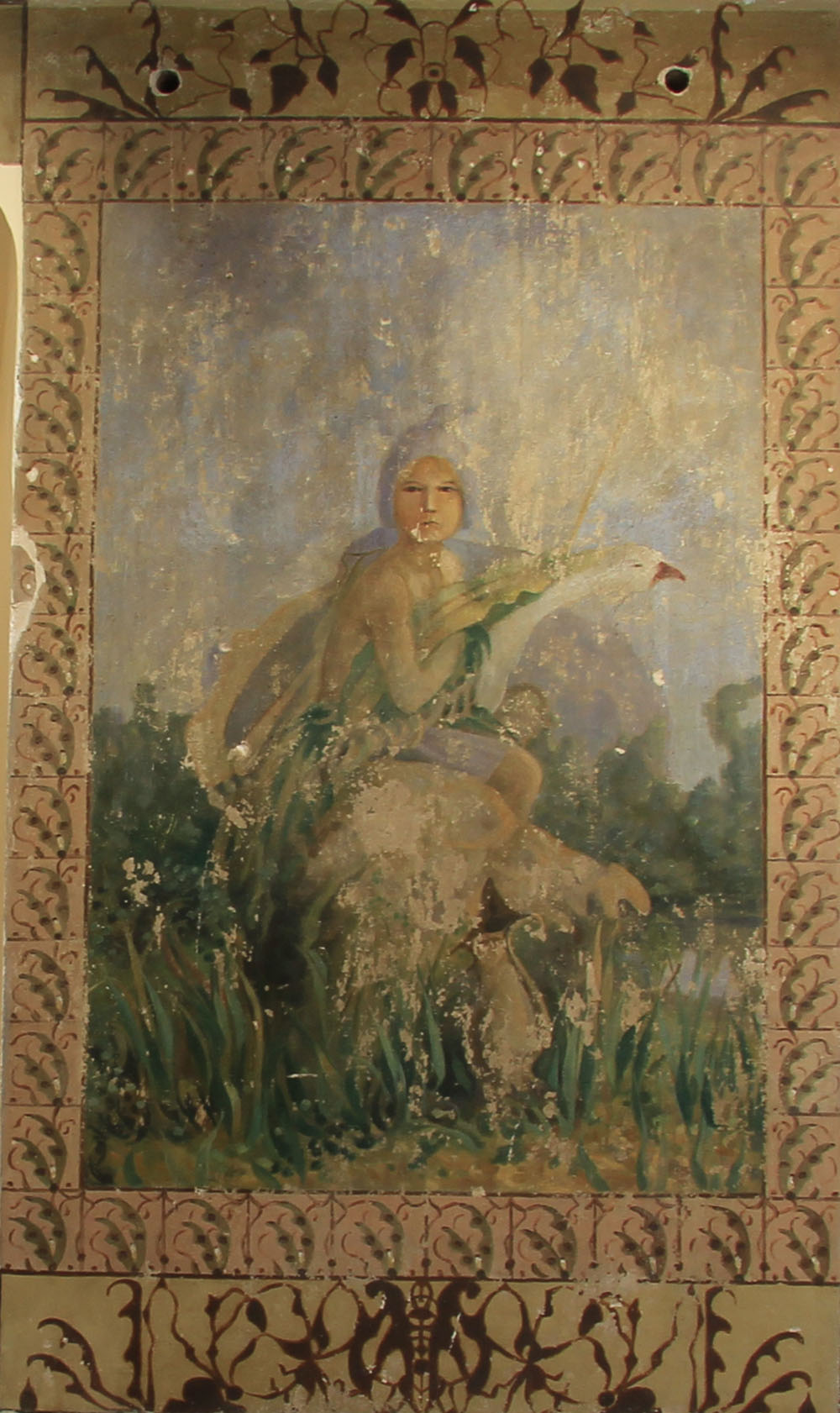 Хвалынск. Картинная галерея Петрова-Водкина. Леда и лебедь