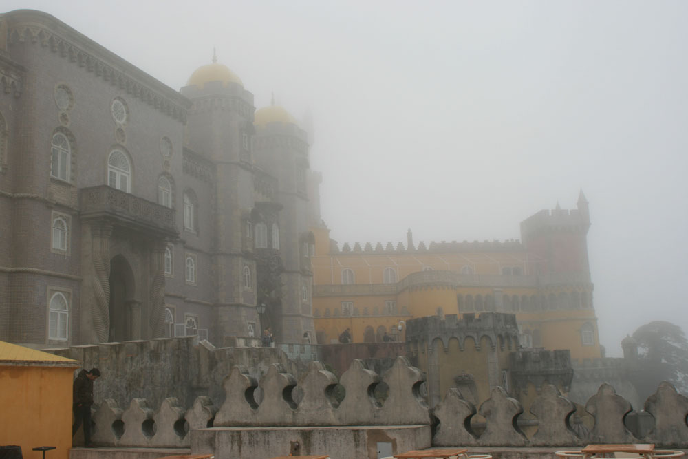 Синтра дворец Пена