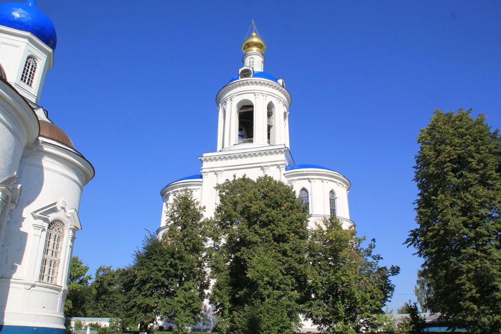 Колокольня Боголюбского монастыря