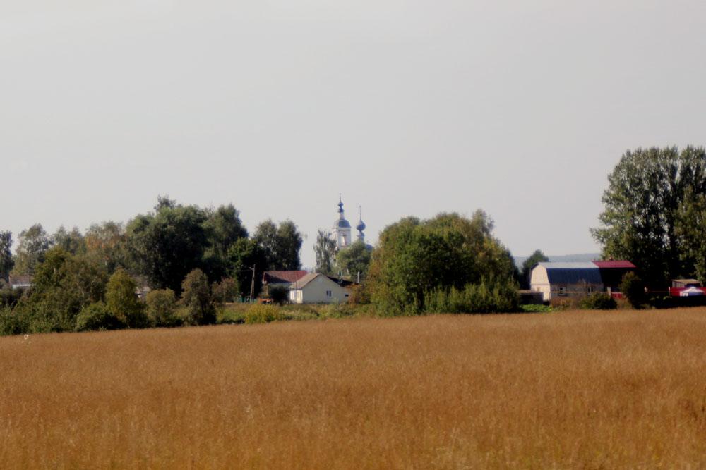Толпыгино. Церковь Воскресения Словущего