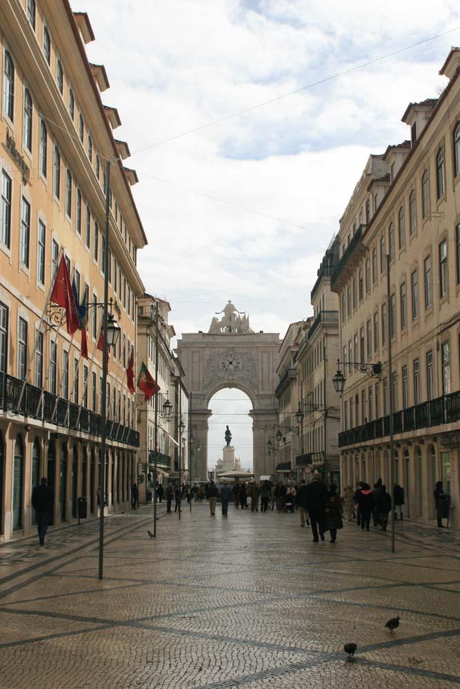 Лиссабон. Триумфальная арка