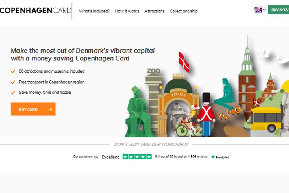 Copenhagen-card