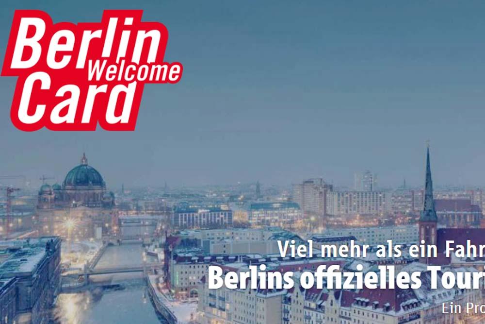 Berlin WelcomeCard: что входит и как пользоваться