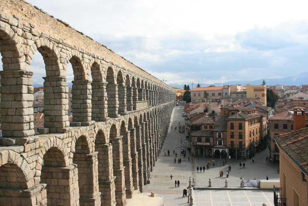 Как добраться из Мадрида в Сеговию