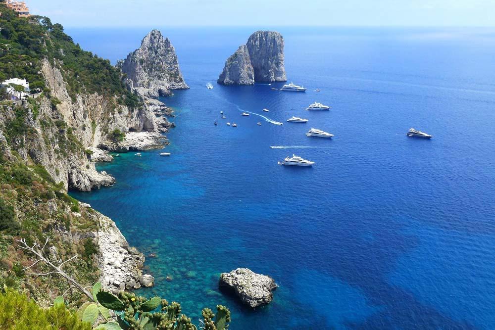 Как добраться на Капри