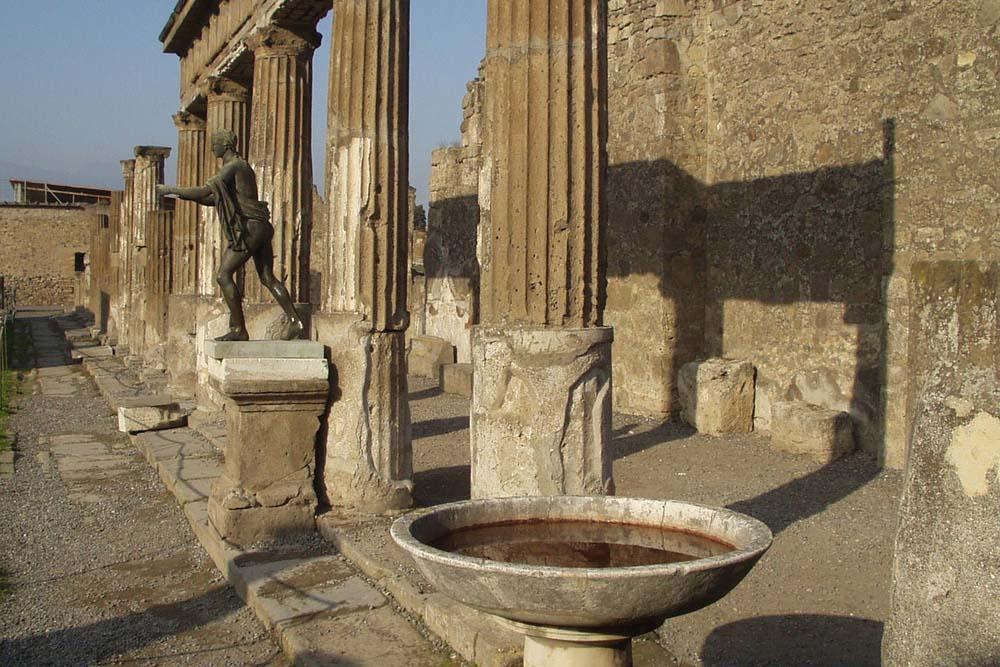 Как добраться в Помпеи