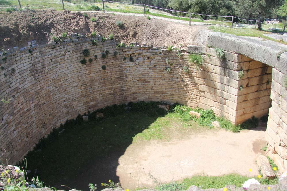 Микены. Львиная гробница