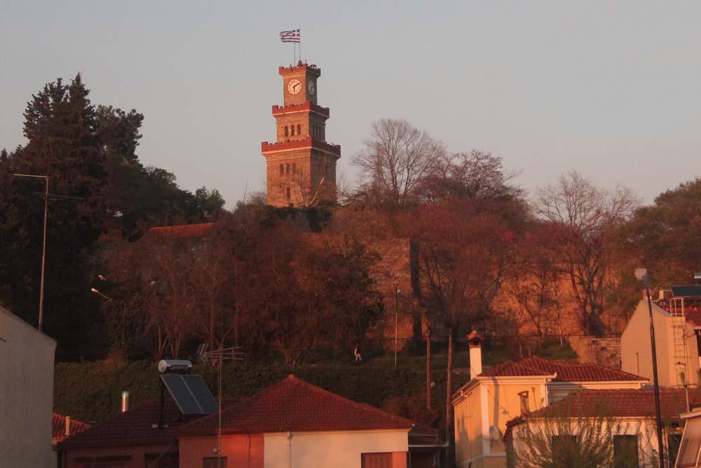 Трикала. Часовая башня византийской крепости